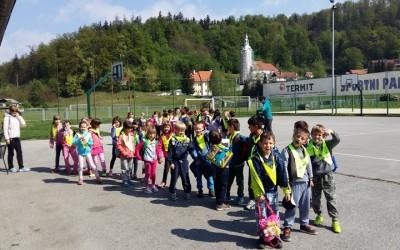 Športni dan 1. razreda: Pohod ob Kamniški bistrici do Ihana