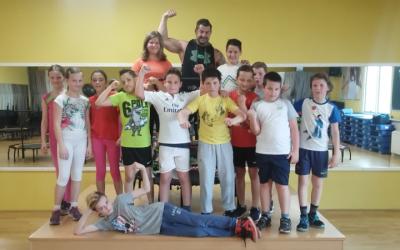 Športni dan 5. razreda: Fit fit Domžale