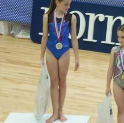 Odlični dosežki učenke Lane Ilič na gimnastičnih tekmovanjih