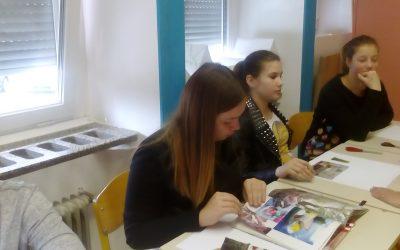 Tehniški dan za 8.c in d razred na Srednji trgovski šoli v Ljubljani