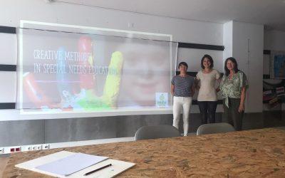 Vključevanje učencev s posebnimi potrebami preko ustvarjanja, umetnosti in igrarij, Angra do Heroismo,  Portugalska, julij 2021